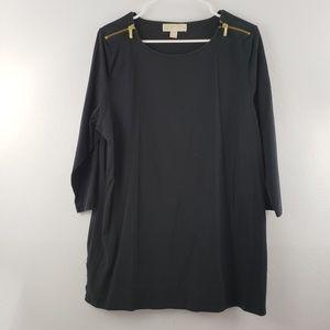 Michael Kors Plus Size Long Sleeve Tunic Top